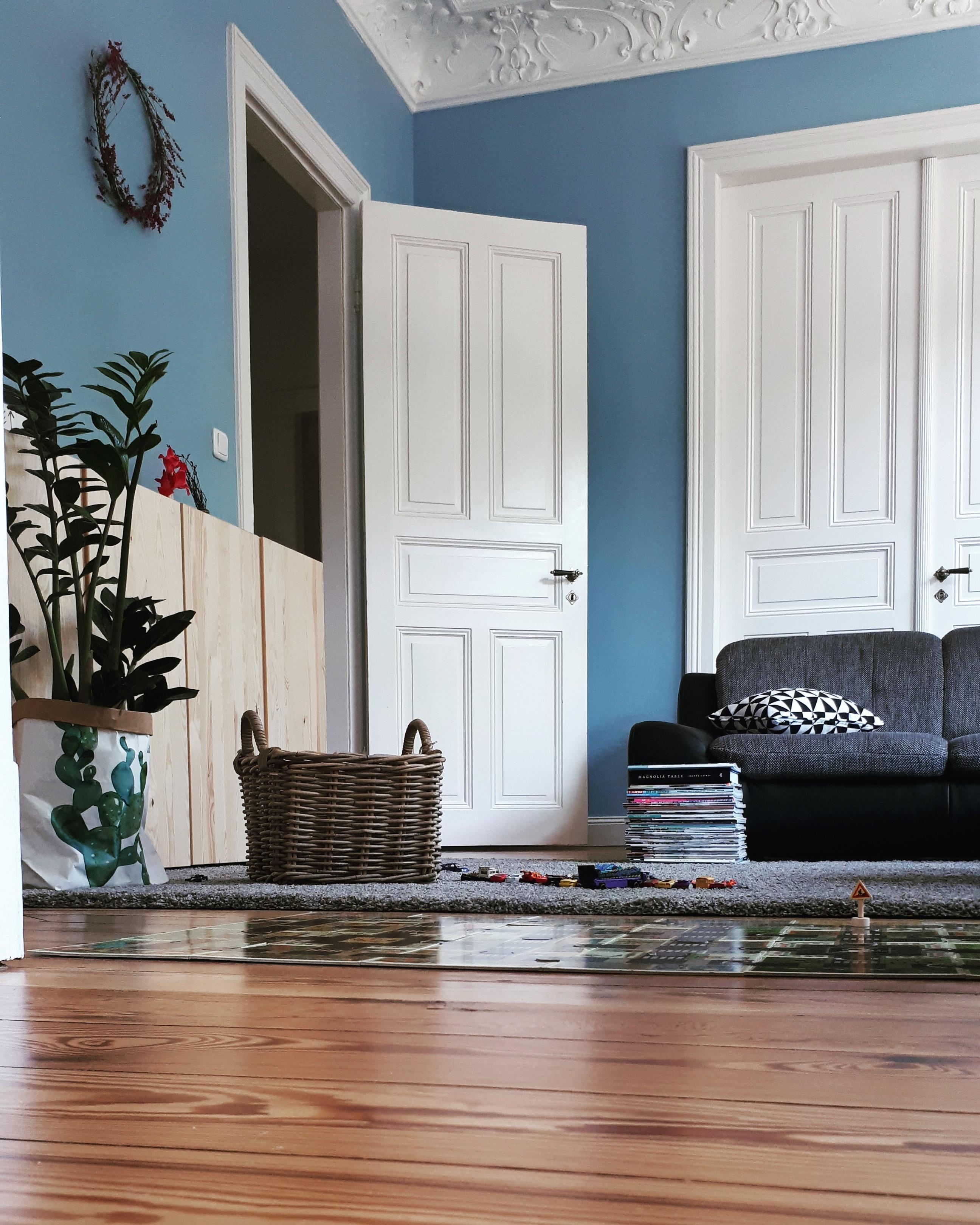 Ein Ruhiger Ferienmorgen Wohnzimmer Bunt Altba