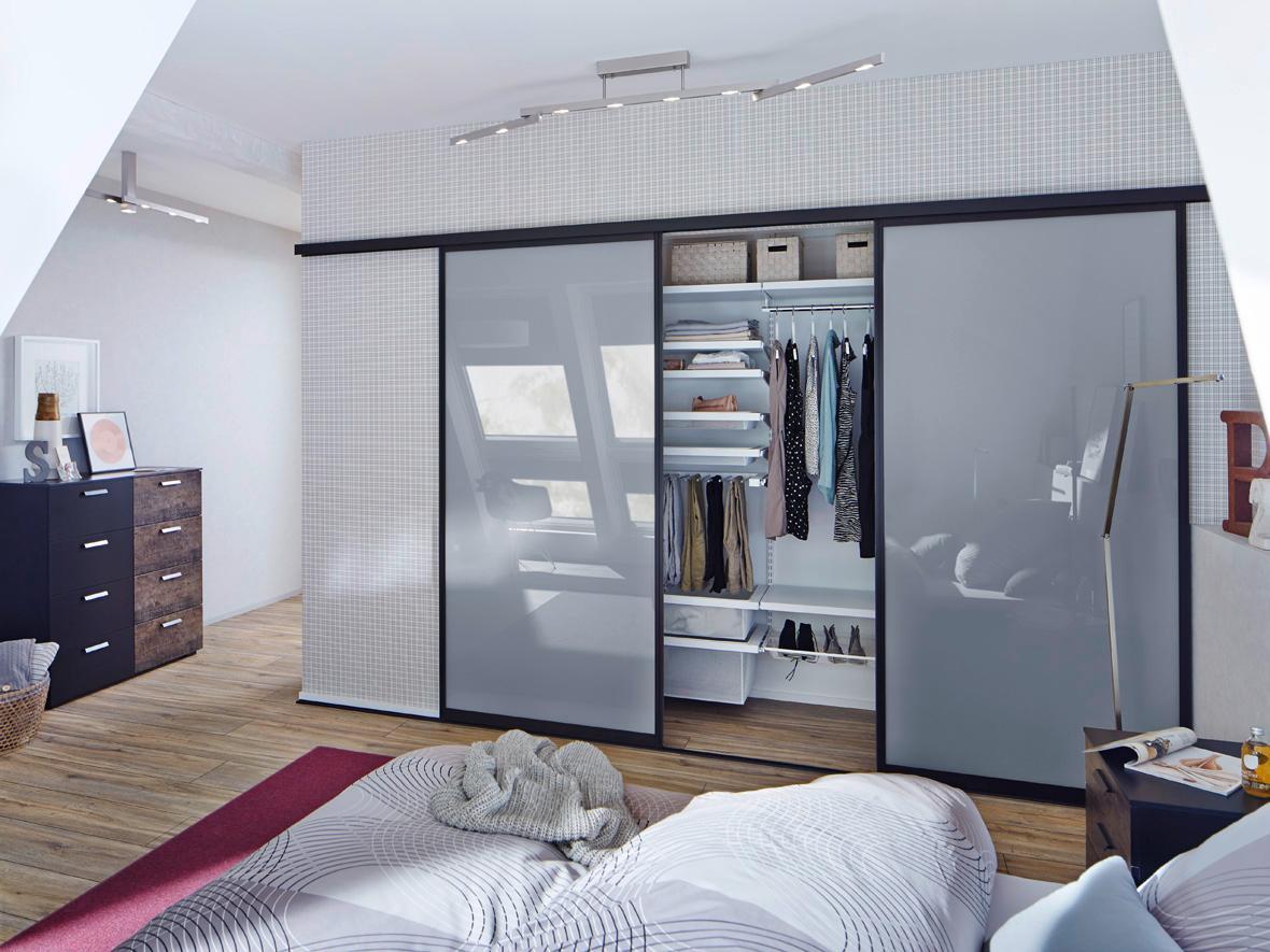 Einbauschrank Schlafzimmer #zimmergestaltung ©Elfa D...