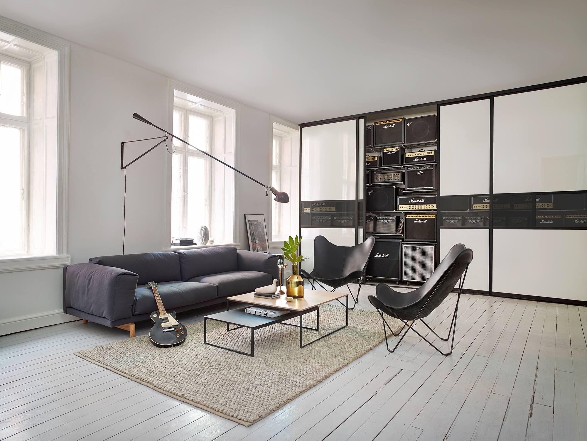 Einbauschrank Wohnzimmer Zimmergestaltung C Elfa Lum