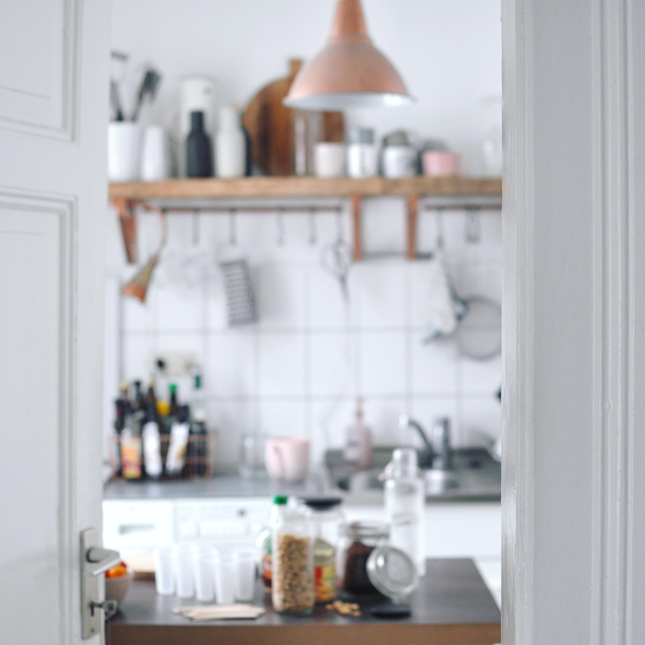 Einblick die Eisproduktion in Lenkas Kitchn #küche #kitchen #icecream