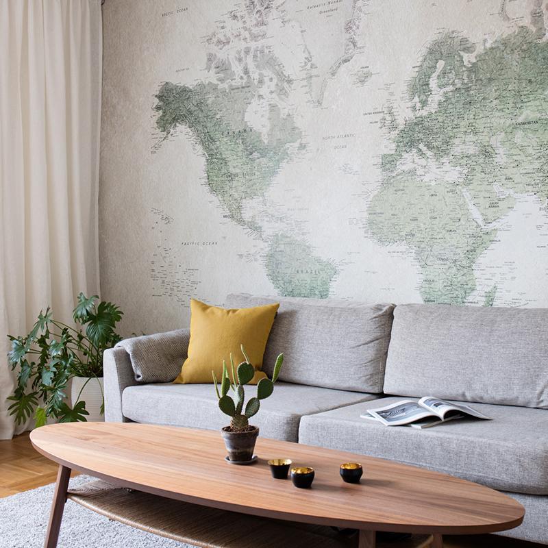 Tolle Ideen Zur Dekoration Mit Weltkarten