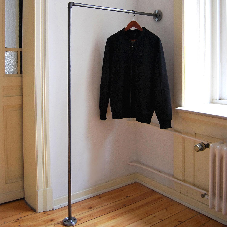 Kleiderstange bilder ideen couchstyle for Einfache garderobe