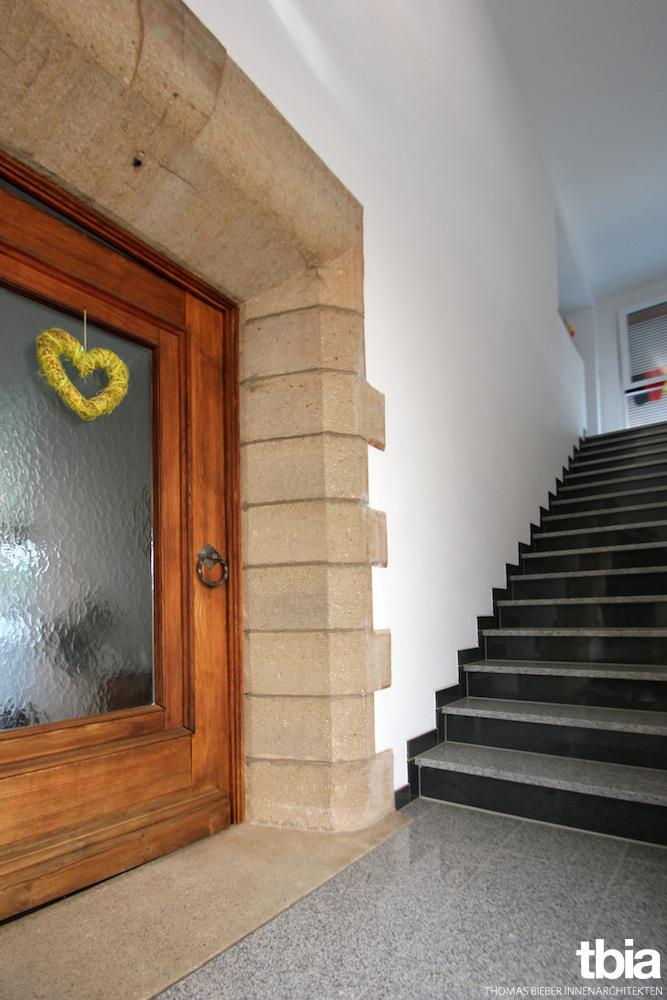 Eingangstür #treppenhaus #eingang ©E. Beck/ Tbia