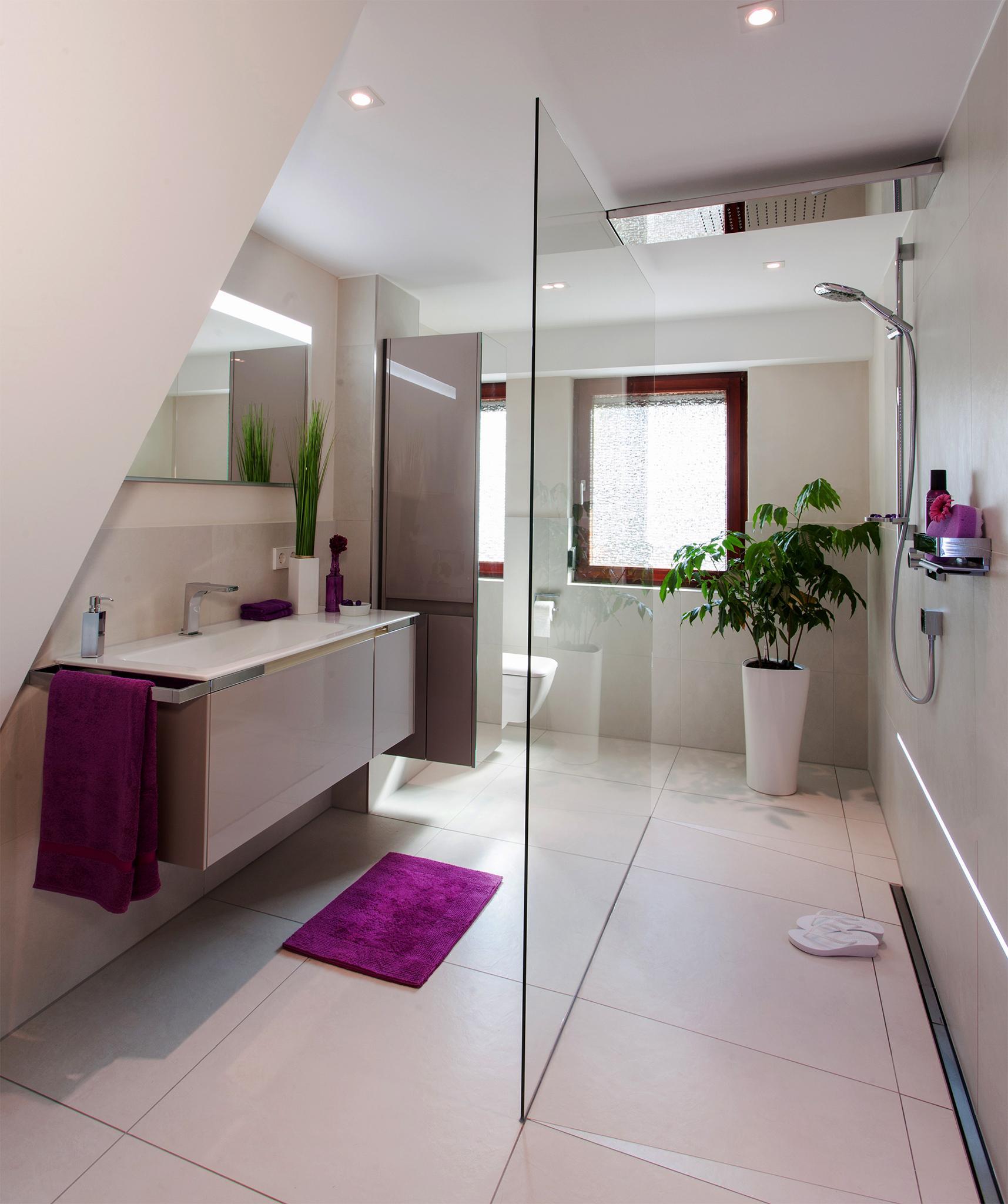 Bild für badezimmer  Badezimmer Dachschräge • Bilder & Ideen • COUCHstyle