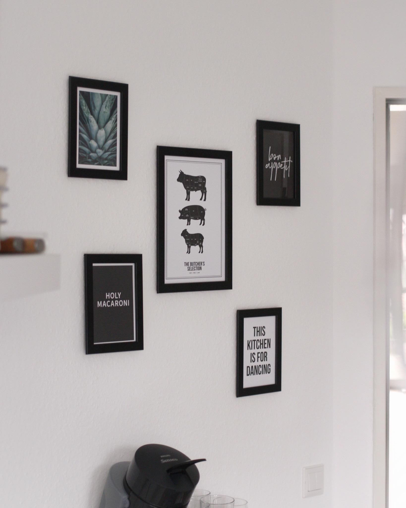 Endlich hängen sie 👍🏻 #küchenwand #küche #kitcheni..