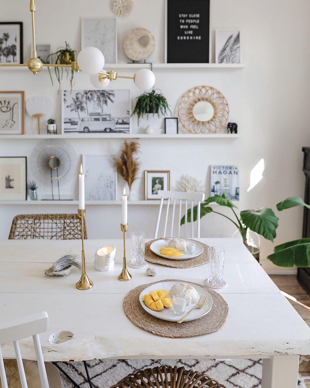 Die Schonsten Wohnideen Rund Um Den Tisch Gibt S Hier