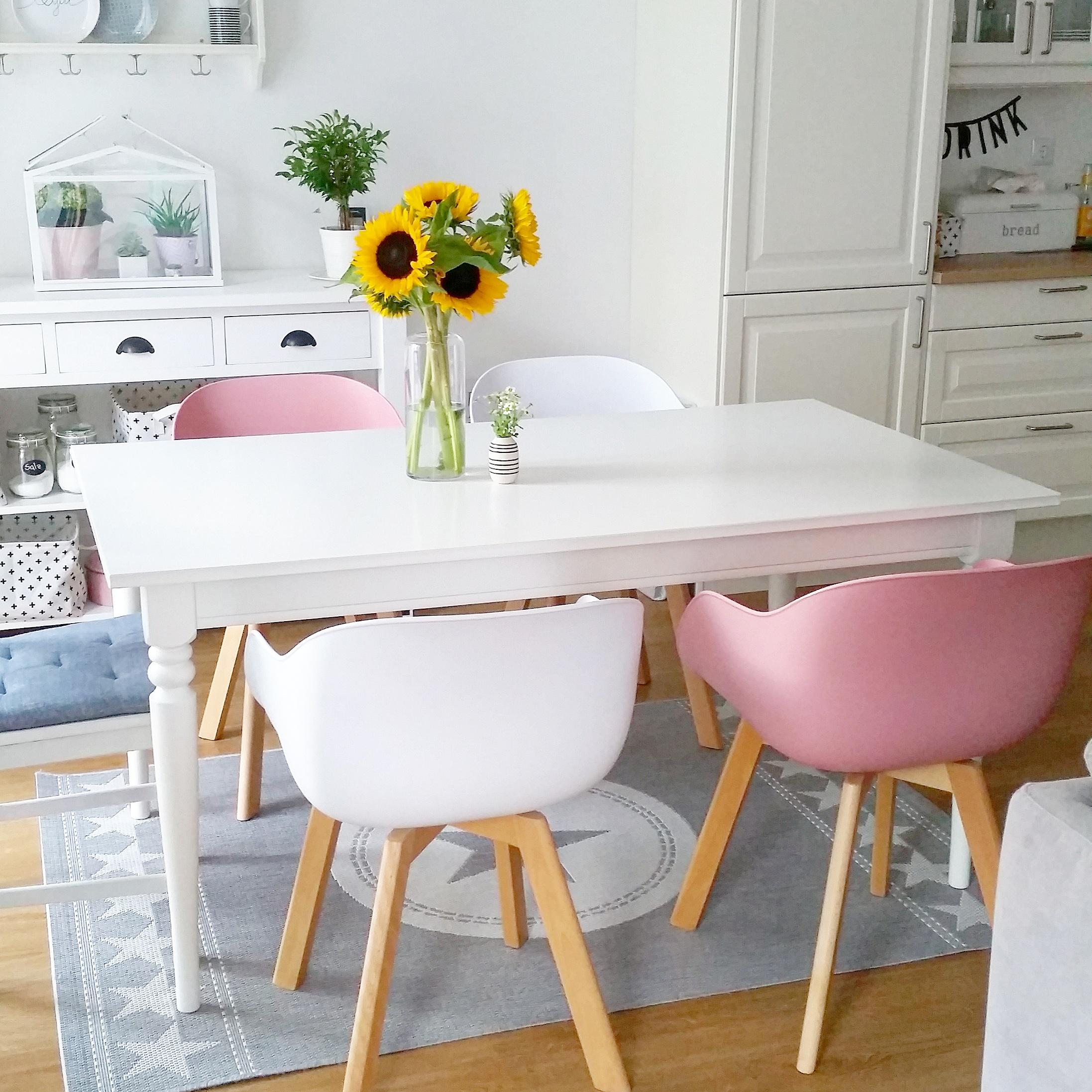Essbereich im Scandi /Pastell look ☺