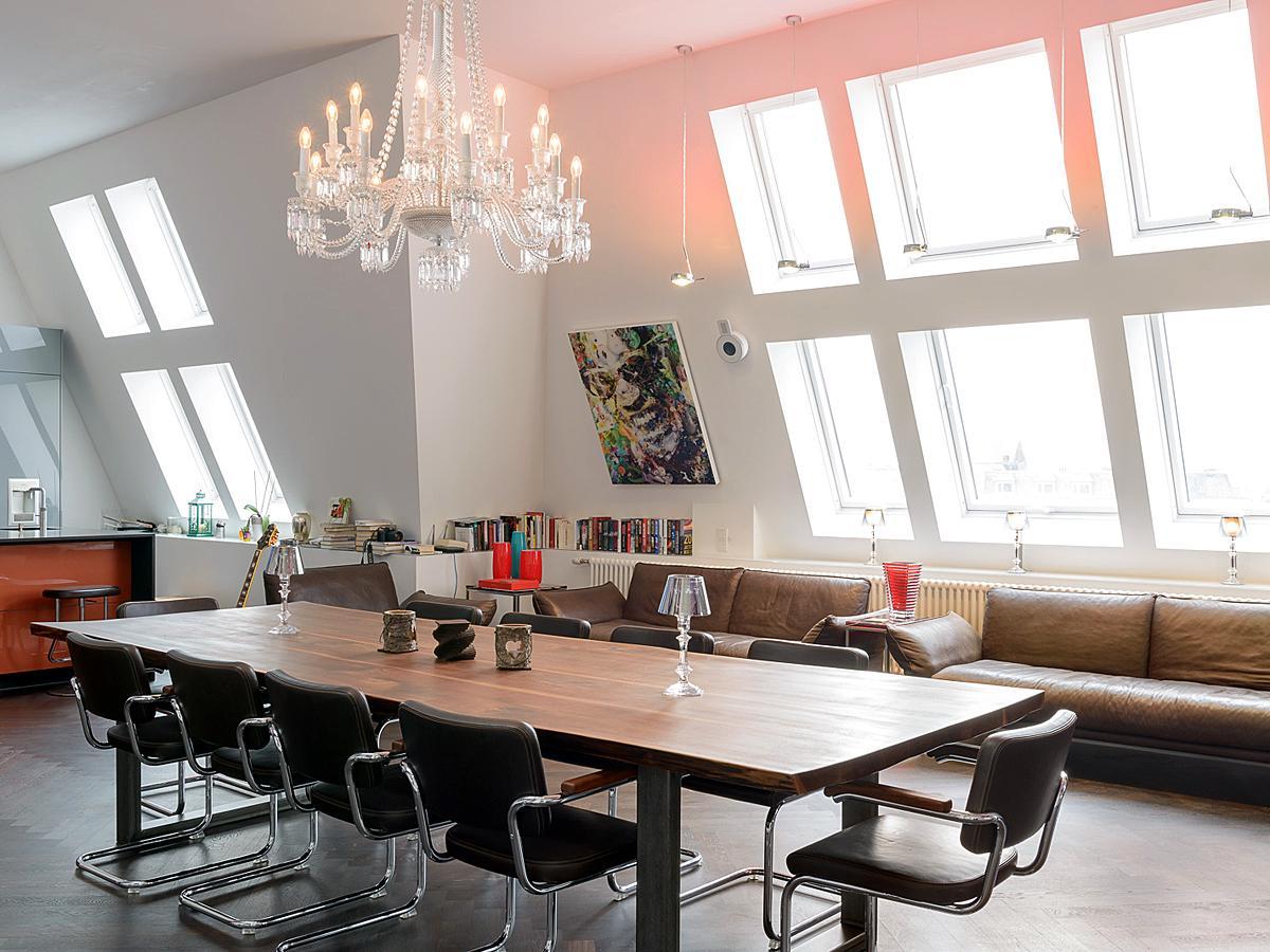 ledersofa • bilder & ideen • couchstyle, Wohnzimmer