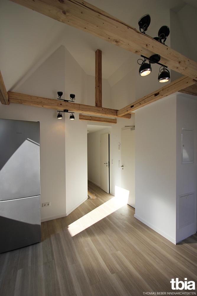 Großartig Esszimmer, Flur #dachgeschosswohnung #dachgeschossausbau ©Foto: E. Beck/  Tbia