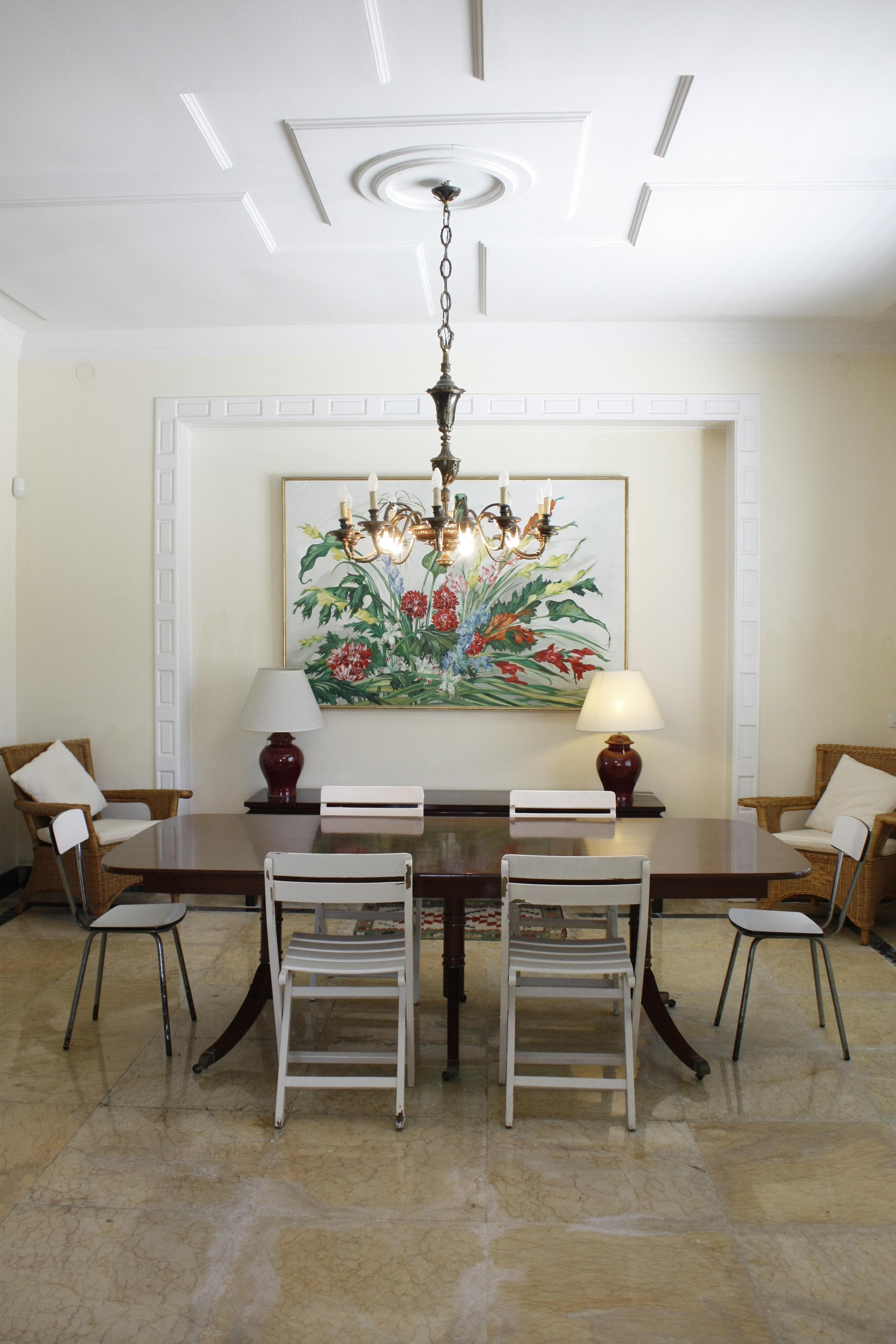 Rattanmöbel esszimmer  Wandbild • Bilder & Ideen • COUCHstyle