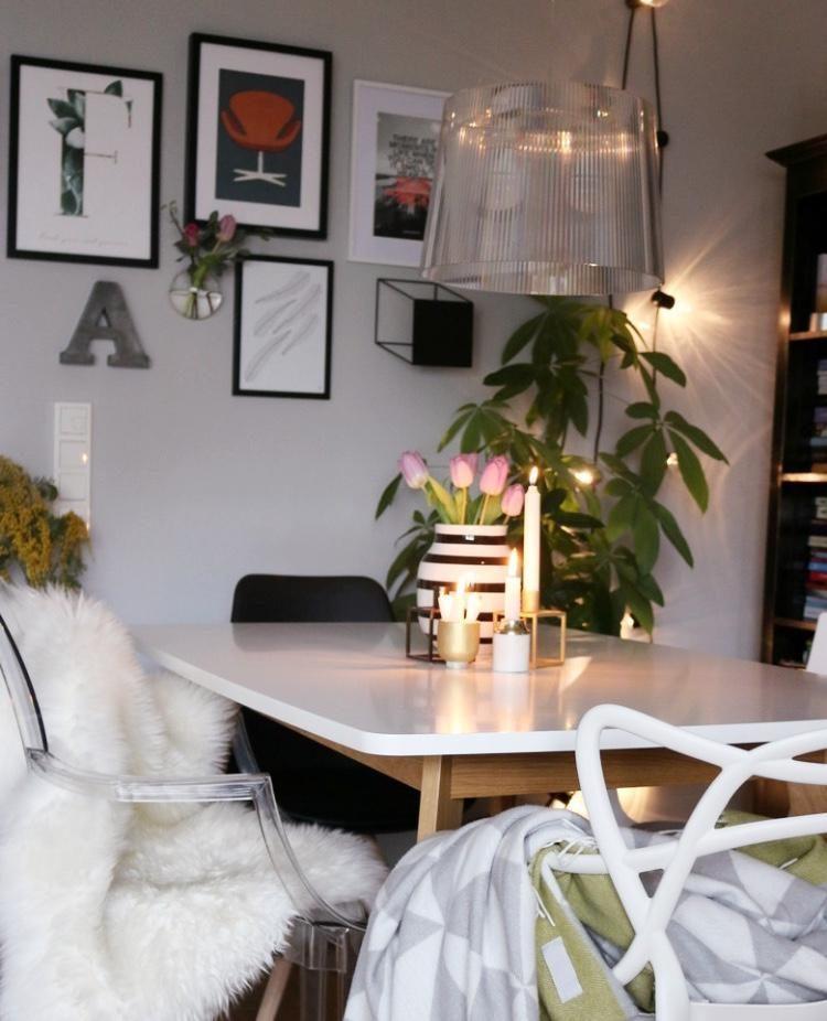 Esszimmer weiss stuhl skandinavisch interior living couchstyle kähler