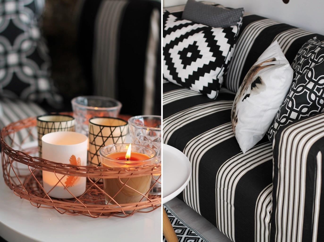 Ethno Look Im Wohnzimmer Sessel Kissen Vorhang Ikea CSaustark Design