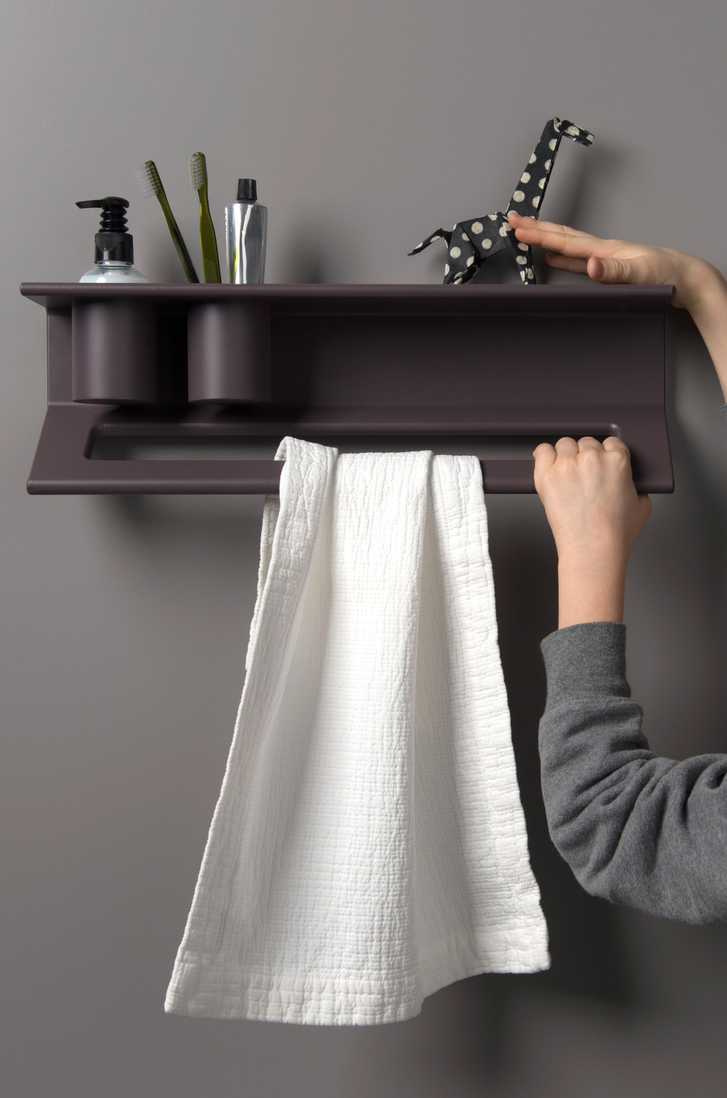 ever Handtuchhalter mit Ablage #bad #badezimmer #was...