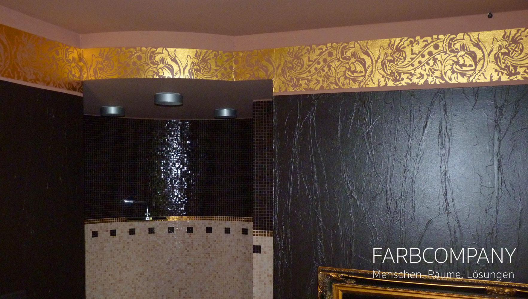 Blattgoldene Wand • Bilder & Ideen • Couchstyle