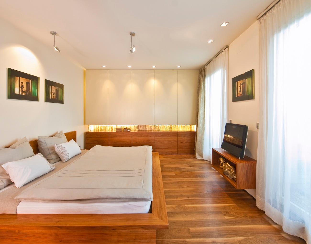exlusives Schlafzimmer #loft #indirektebeleuchtung #...