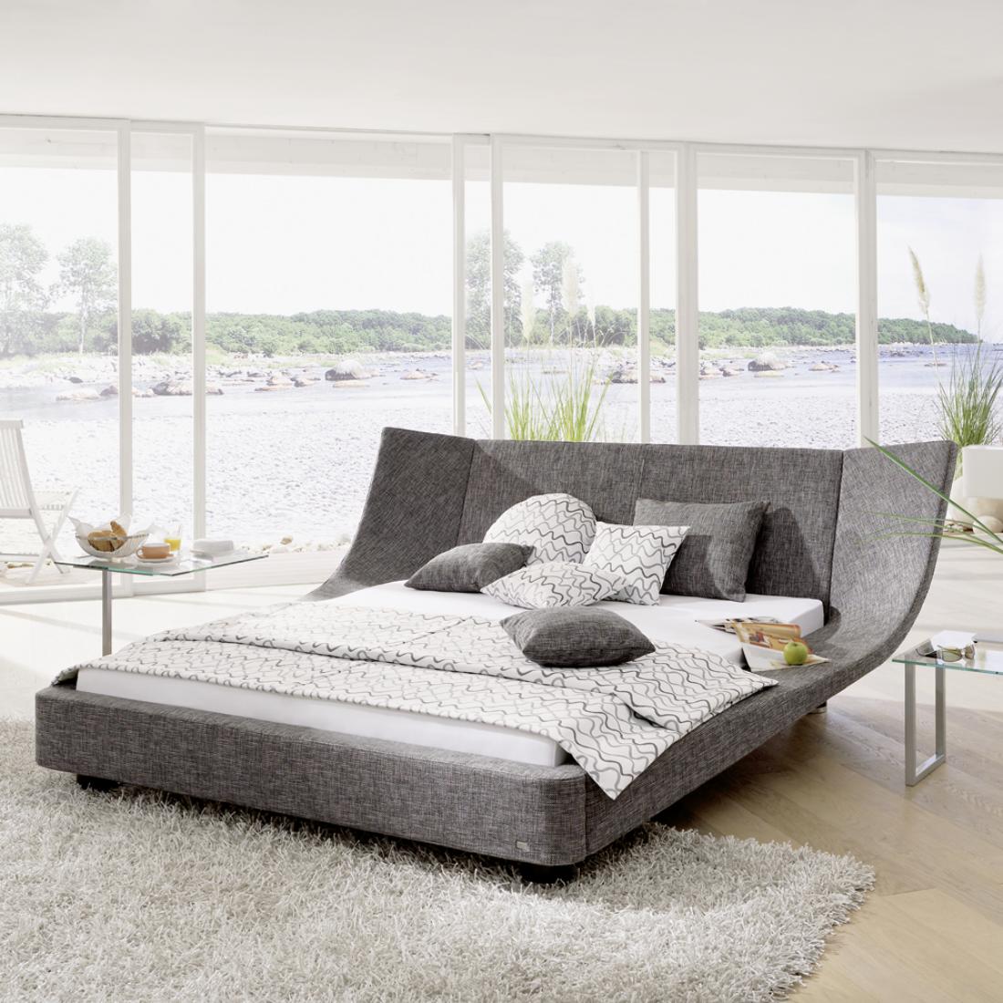 Graues Polsterbett Bilder Ideen Couch