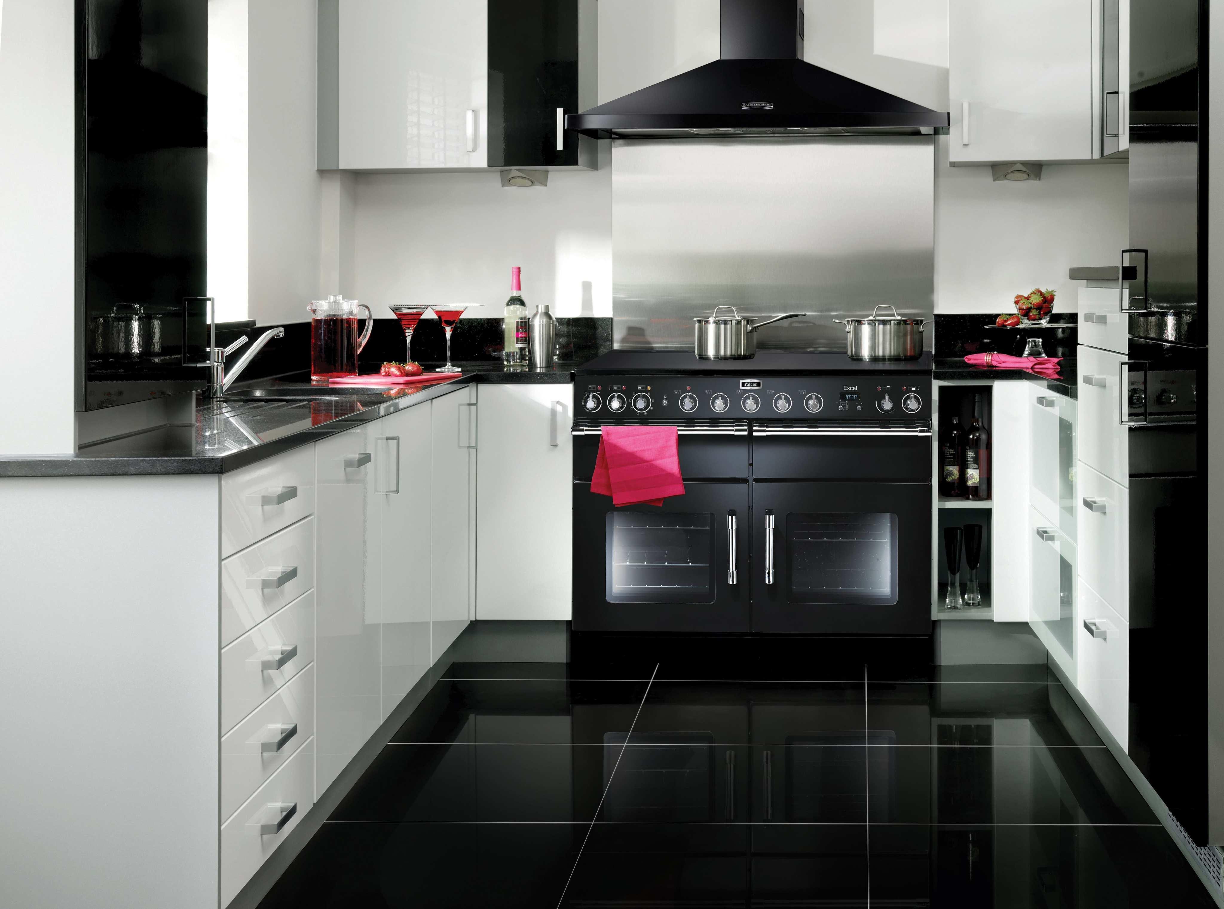 Falcon Küche falcon excel küche weißeküche kühlschrank techni