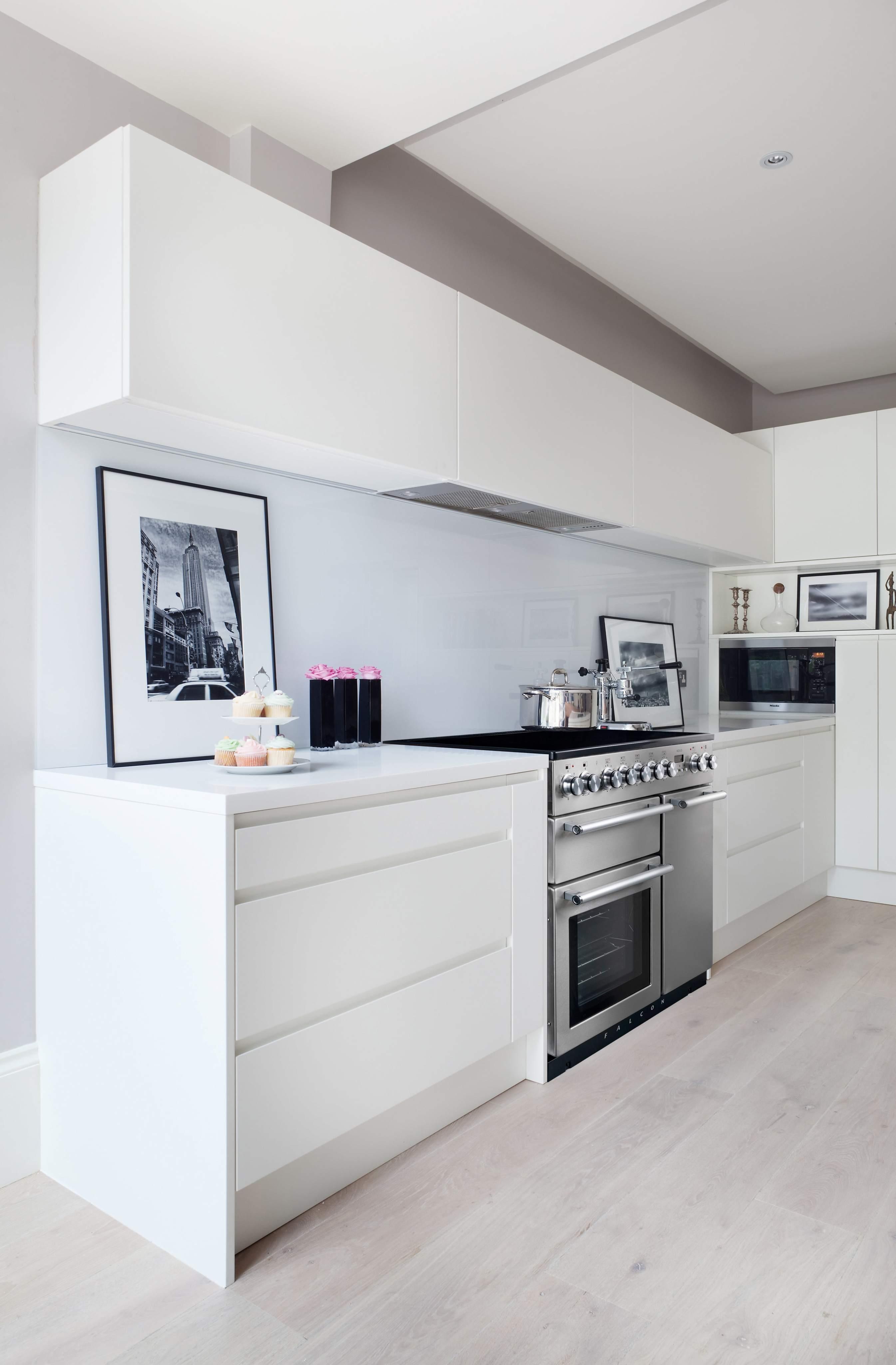 Grifflose Küche • Bilder & Ideen • COUCHstyle | {Küche ideen 16}