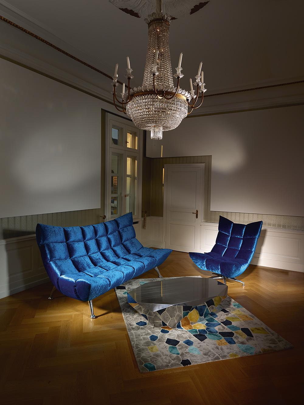 rosafarbenes samtsofa bilder ideen couchstyle. Black Bedroom Furniture Sets. Home Design Ideas