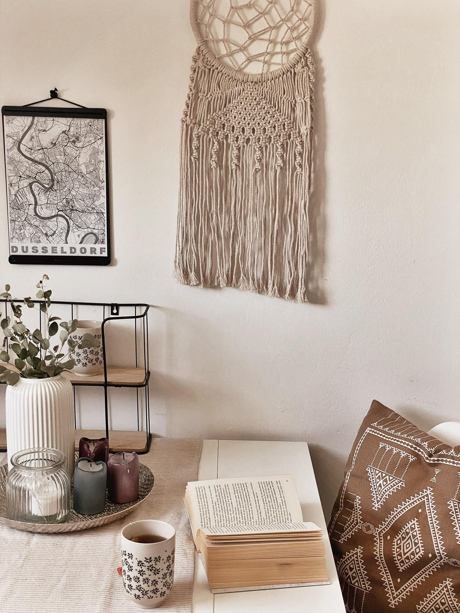 favorite reading spot 📖 #cozy #leseecke #readingspot #reading #vintage #indie #boho #duesseldorf #makramee #dining
