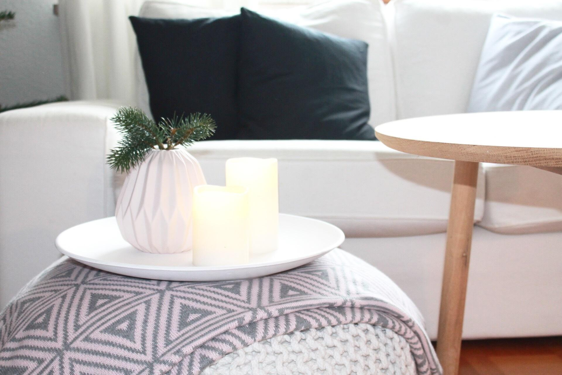 Feiertag Mit Den Liebsten Im Warmen Wohnzimmer Diy Kissen Ikea Sofa