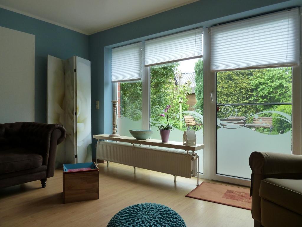 Fensterfolie Mit Schnorkeln Wandfarbe Paravent So