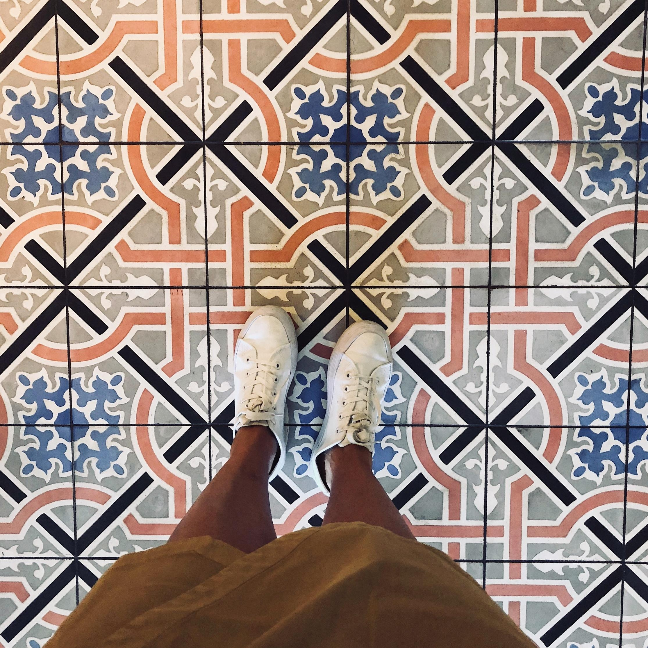 #fliesenliebe #fromwhereistand #muster #tiles #retro #floor #happyfeet #interiordesign