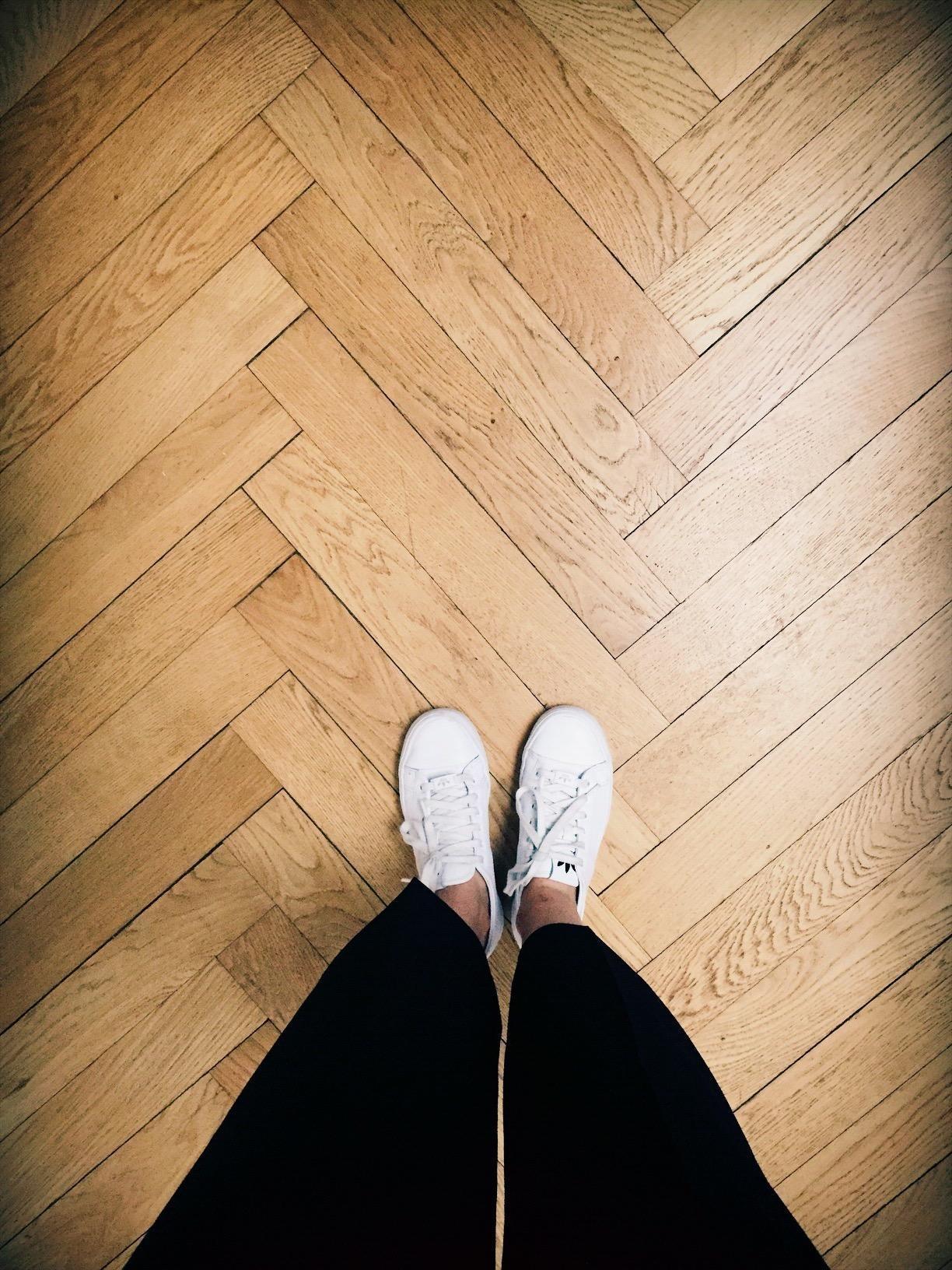 Flur Altbauliebe Floor Boden Holz Parkett Alt