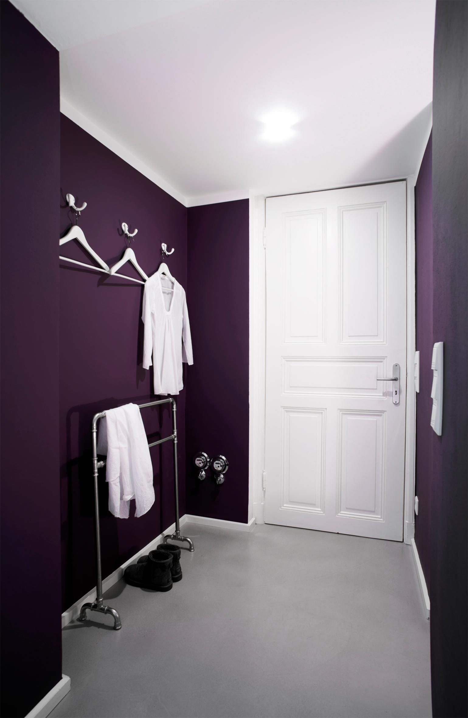 Schlafzimmer ideen wandgestaltung lila  Lila Wandgestaltung • Bilder & Ideen • COUCHstyle