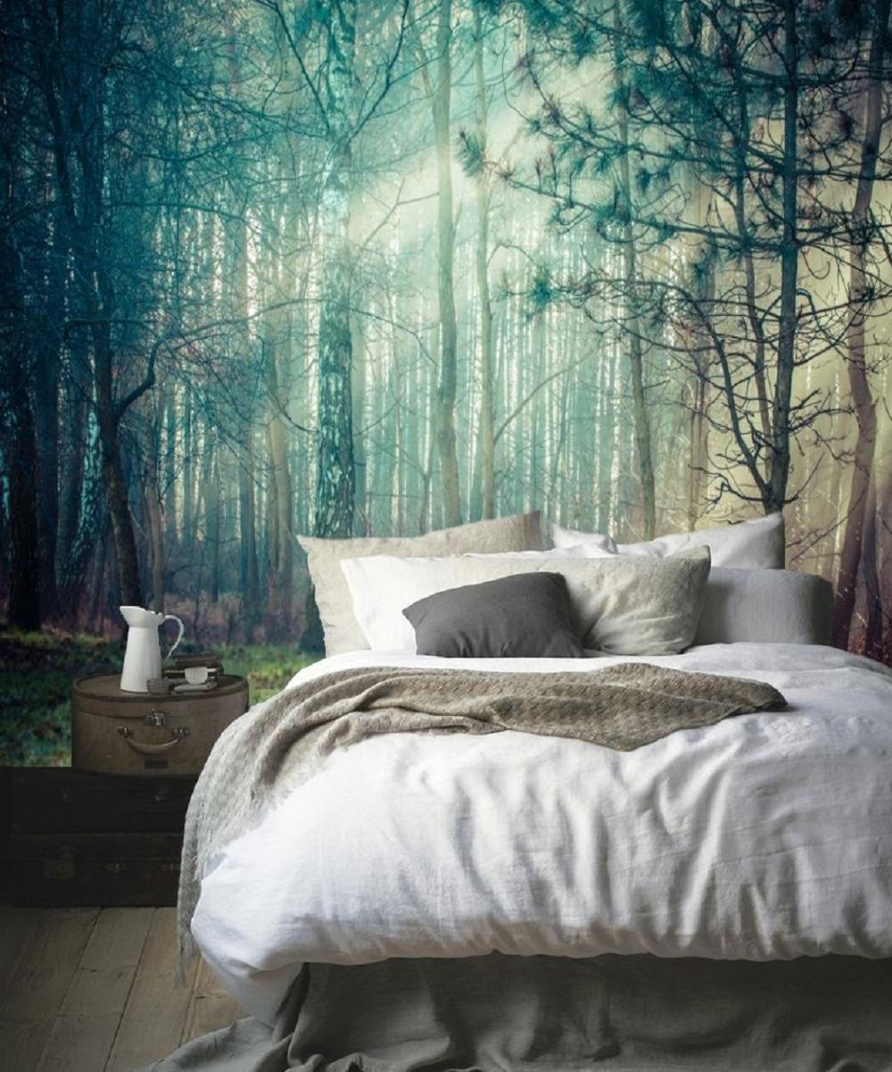 Fototapete #fototapete #schlafzimmerwandgestaltung #zimmergestaltung  ©tapet Show