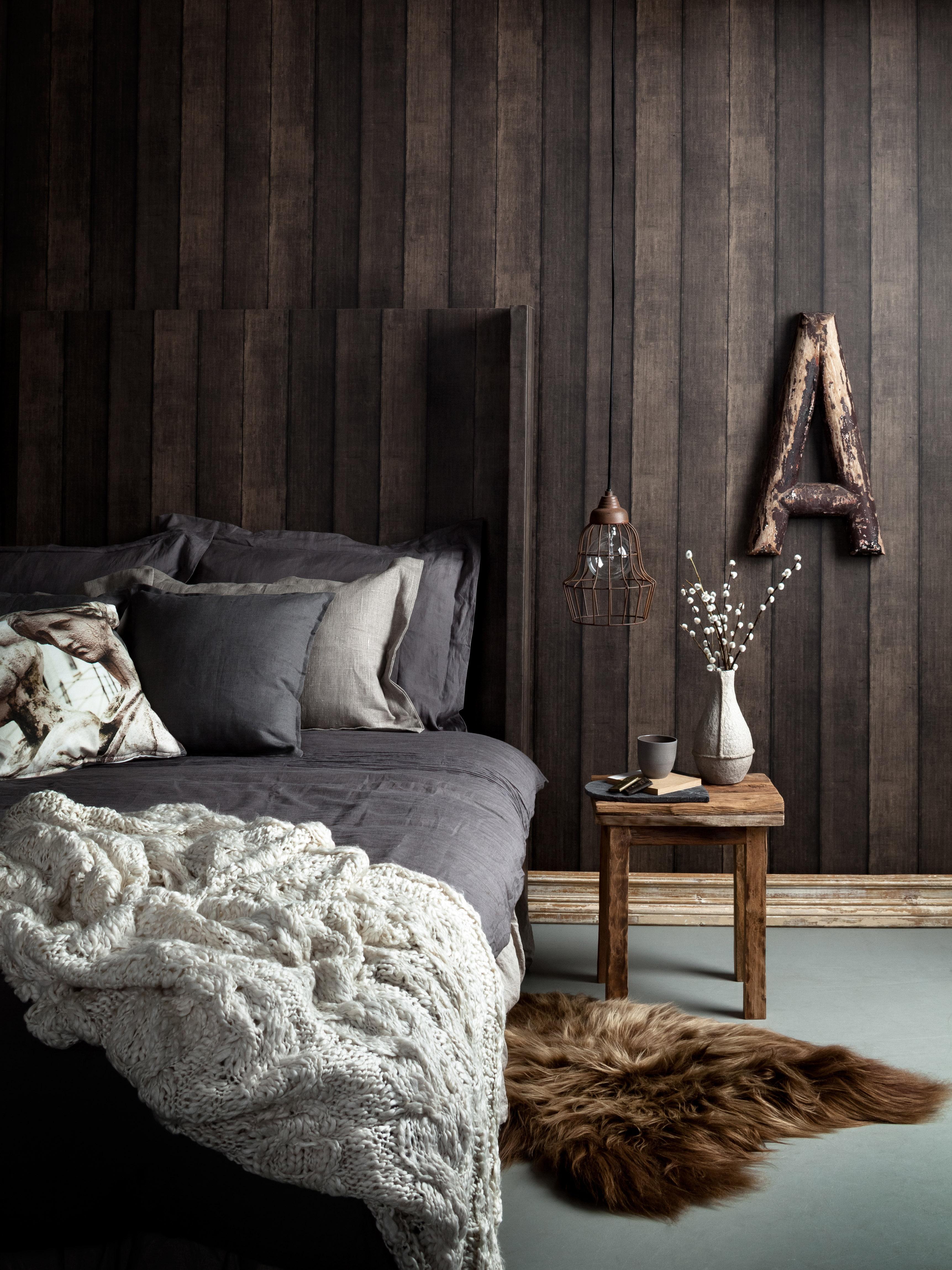 Holz tapete ideen  Tapete Holzoptik • Bilder & Ideen • COUCHstyle