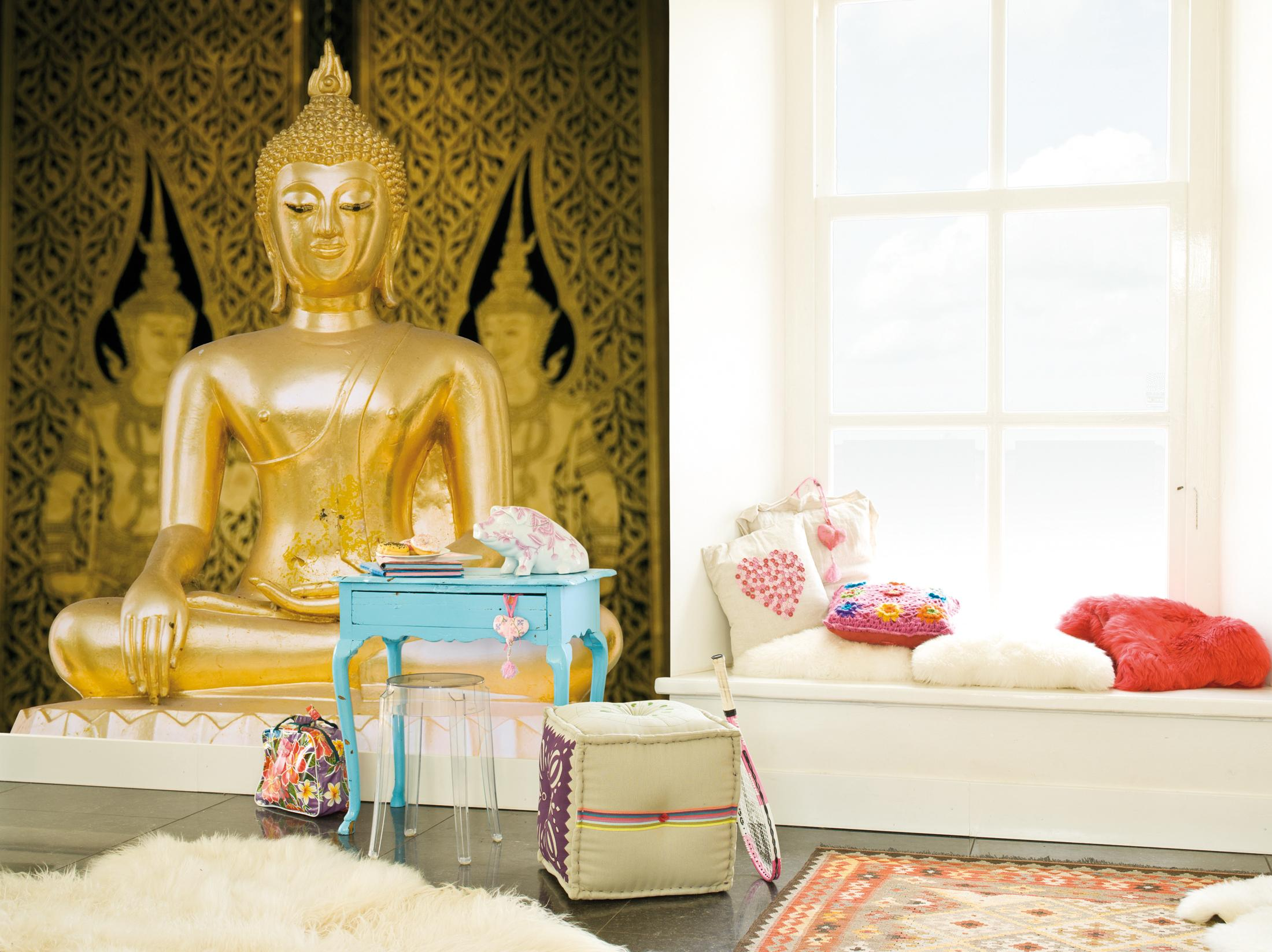 Fototapete Mit Buddha Figur Wandtapete CBN Wallcoverings
