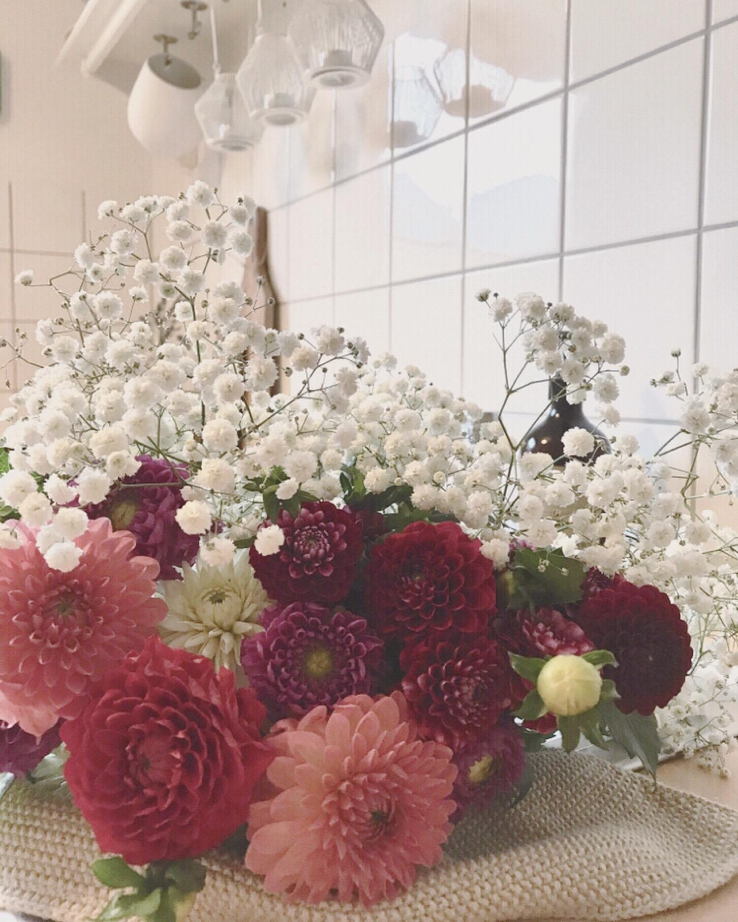 Fresh flowers fürs Wochenende 🌸