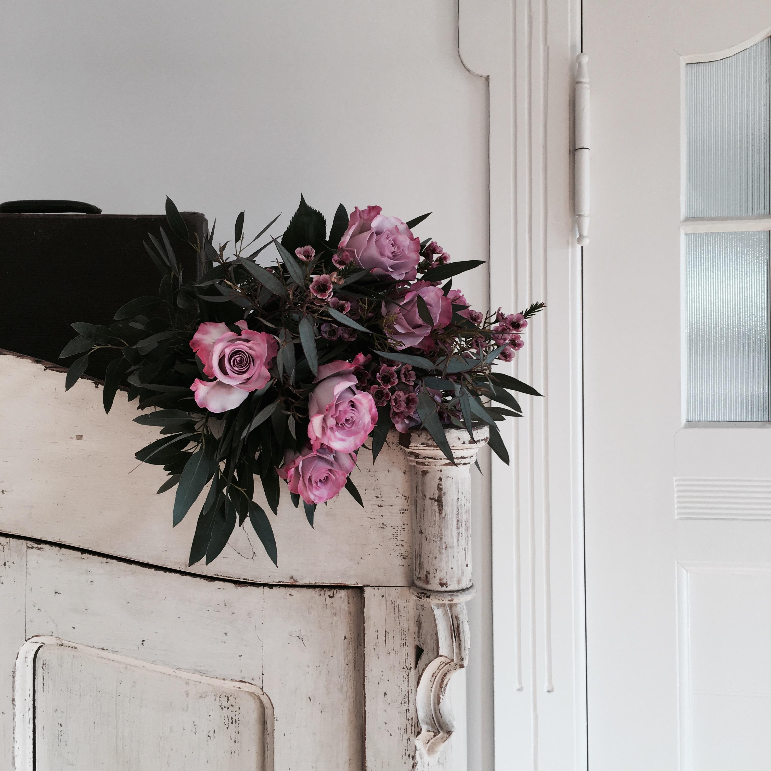 Friday Flowers... #flowers #blumen #blumenstrauss #rosen #eukalyptus #