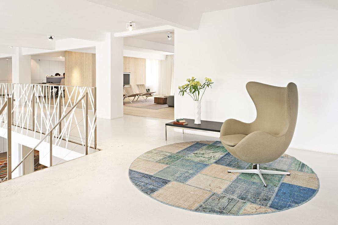 Runder Teppich Bilder Ideen Couch