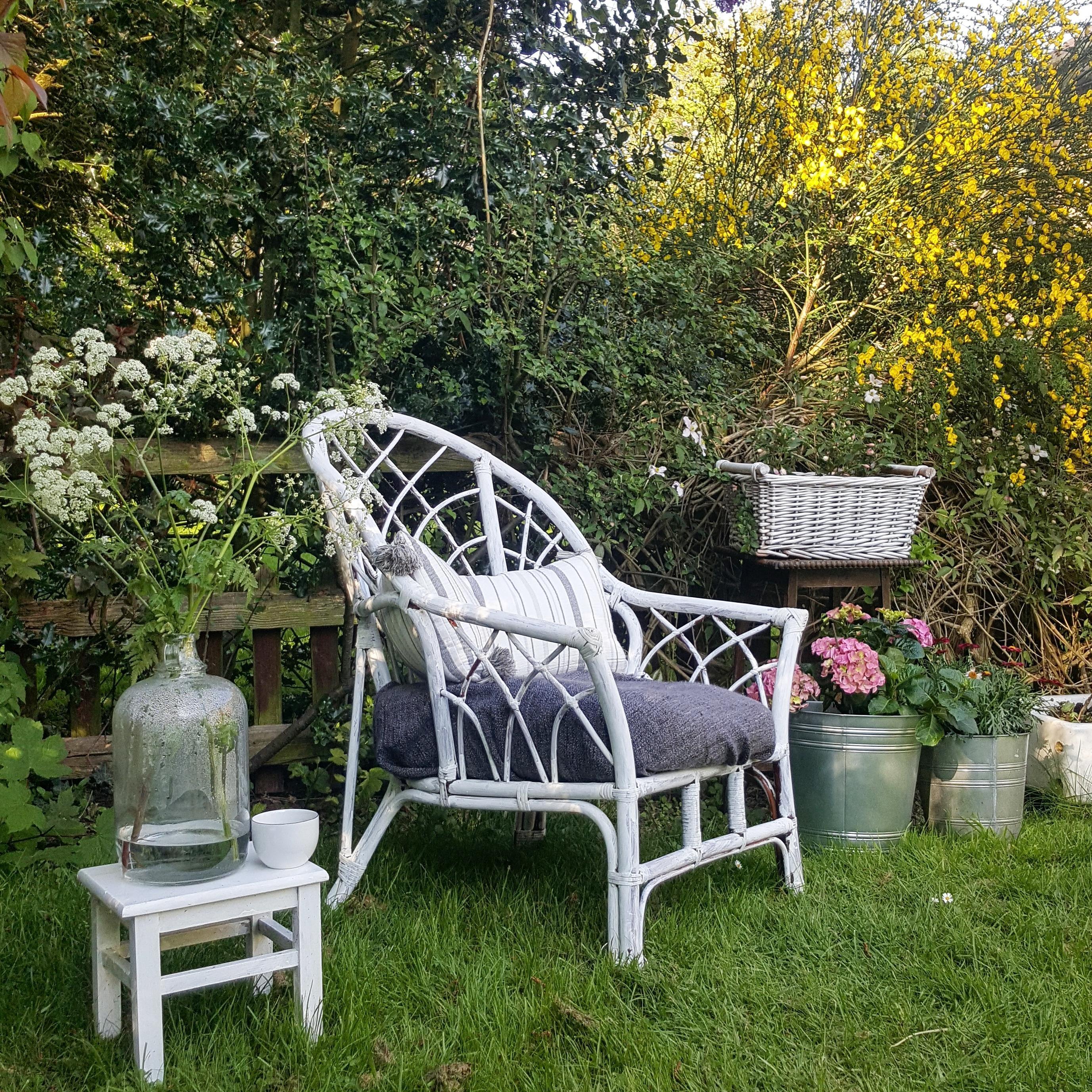 Fruhling Diy Rattan Deko Garten Couch