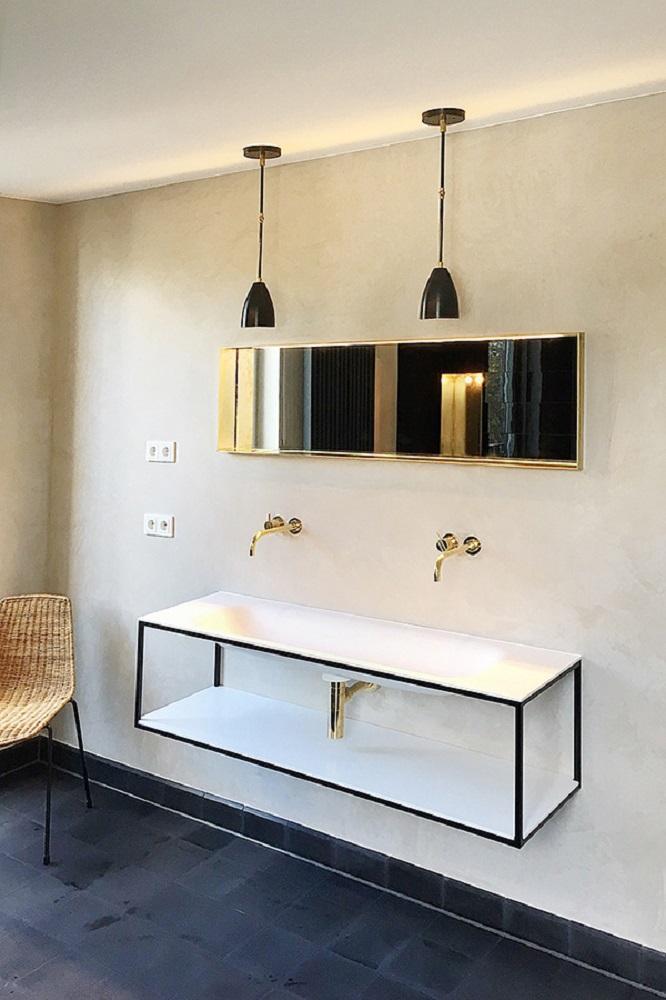 Fugenloses Badezimer #badezimmer ©WAND 1 • COUCH