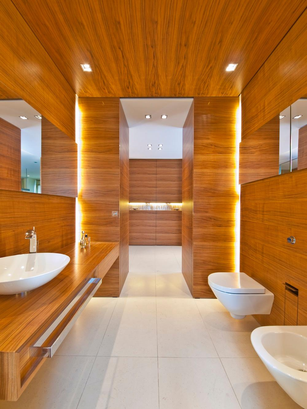 Badezimmer Holz Bilder Ideen Couch