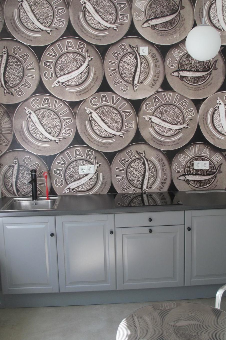 Gästeküche! Nicht Ohne Meine Tapete! #Küchentapete #Tapete #timetogohome