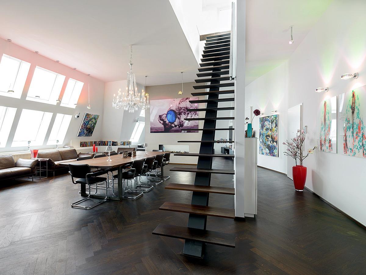 freischwebende treppe bilder ideen couchstyle