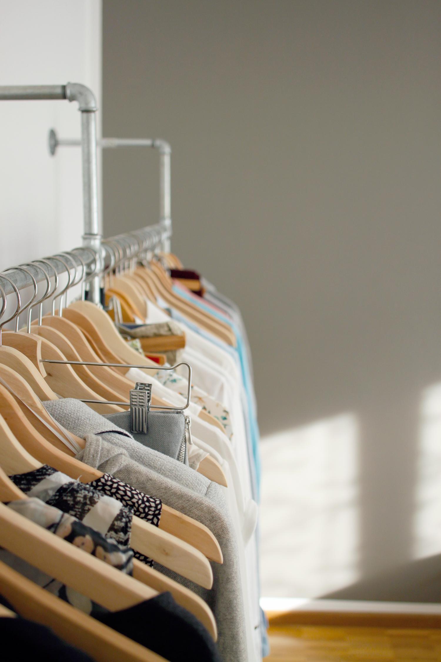 Garderobe Aus Stahlrohr Diy Designergarderobe Garderobe Kleiderschrank  D2e34db4 9ce1 4275 A087 6e8512c0991a