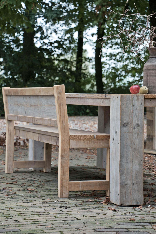 Terrassenmöbel holzbank  Gartenbank • Bilder & Ideen • COUCHstyle