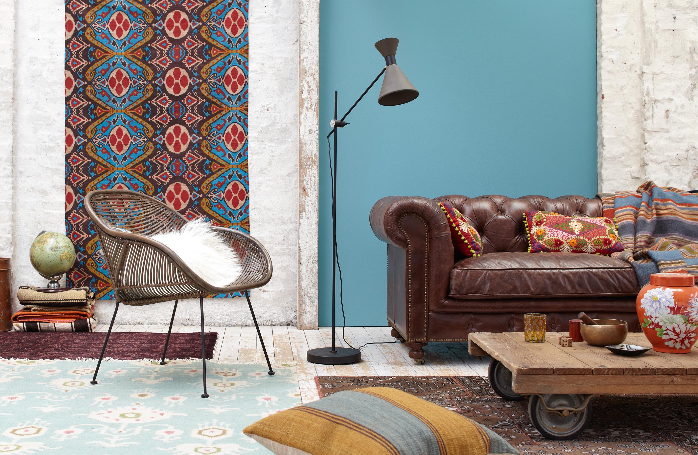 Bunter Teppich Bilder Ideen Couch