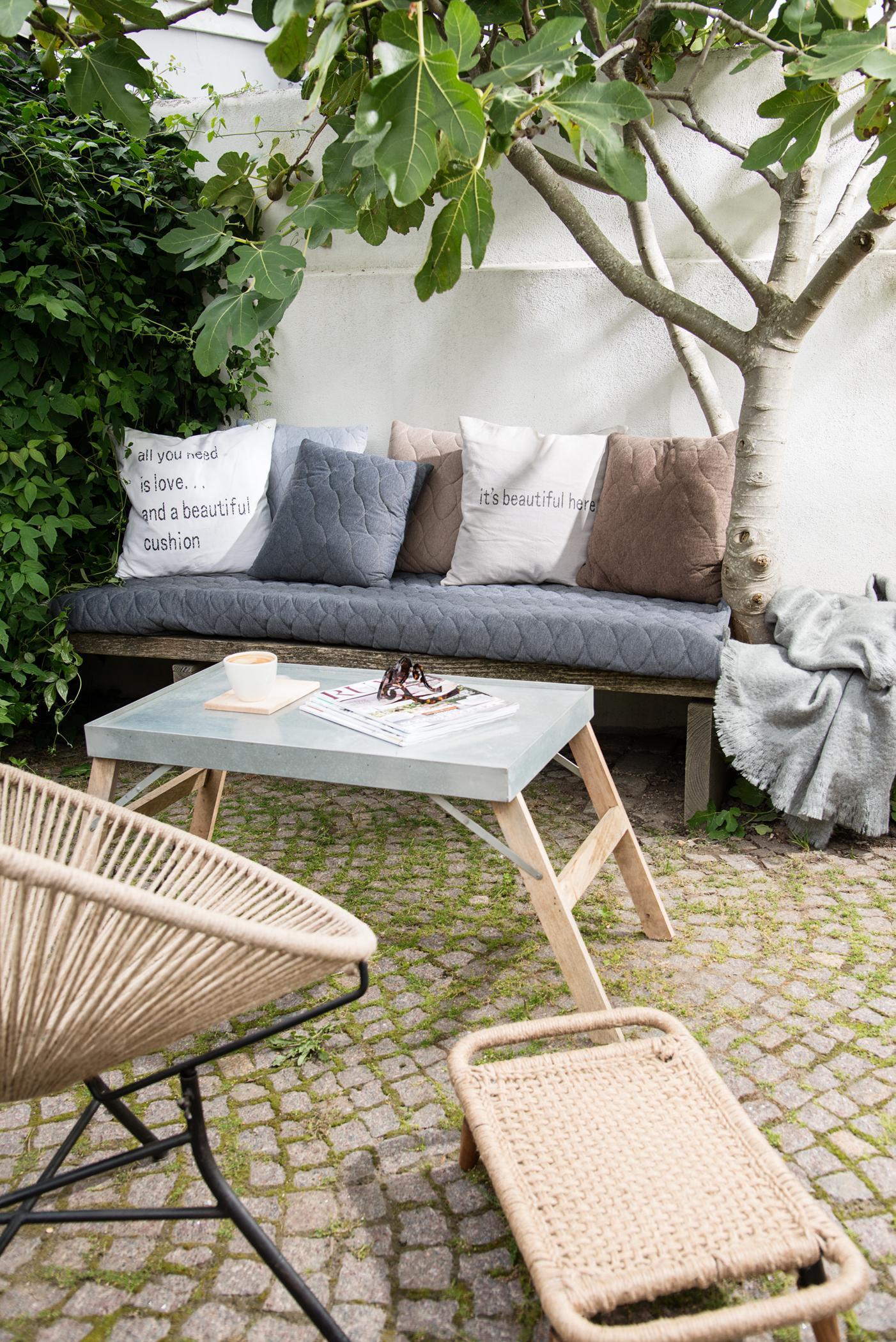 gepolsterte sitzbank • bilder & ideen • couchstyle, Hause deko