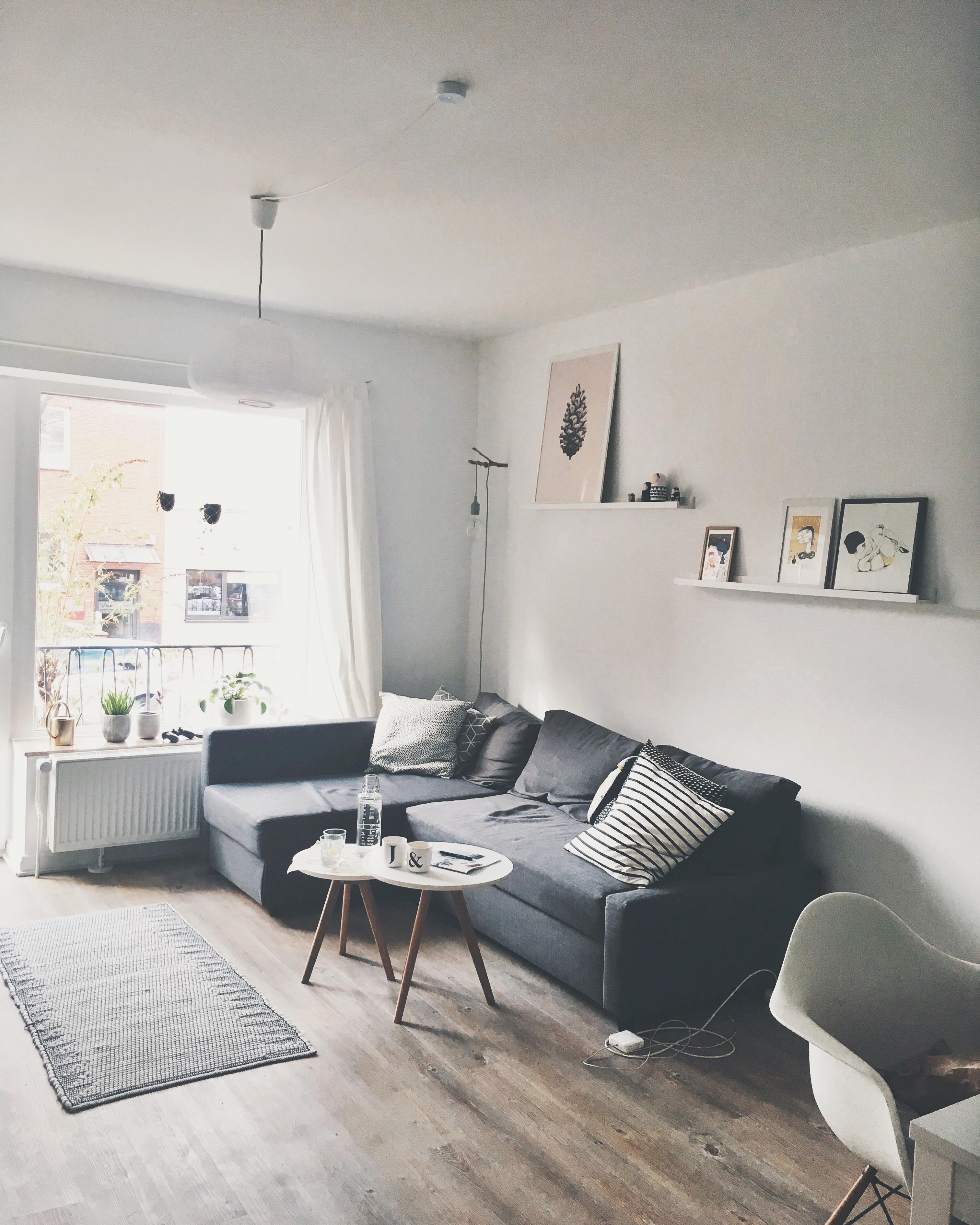 Gemütliche Sofaecke Im Skandi Style Wohnzimmer Hyg