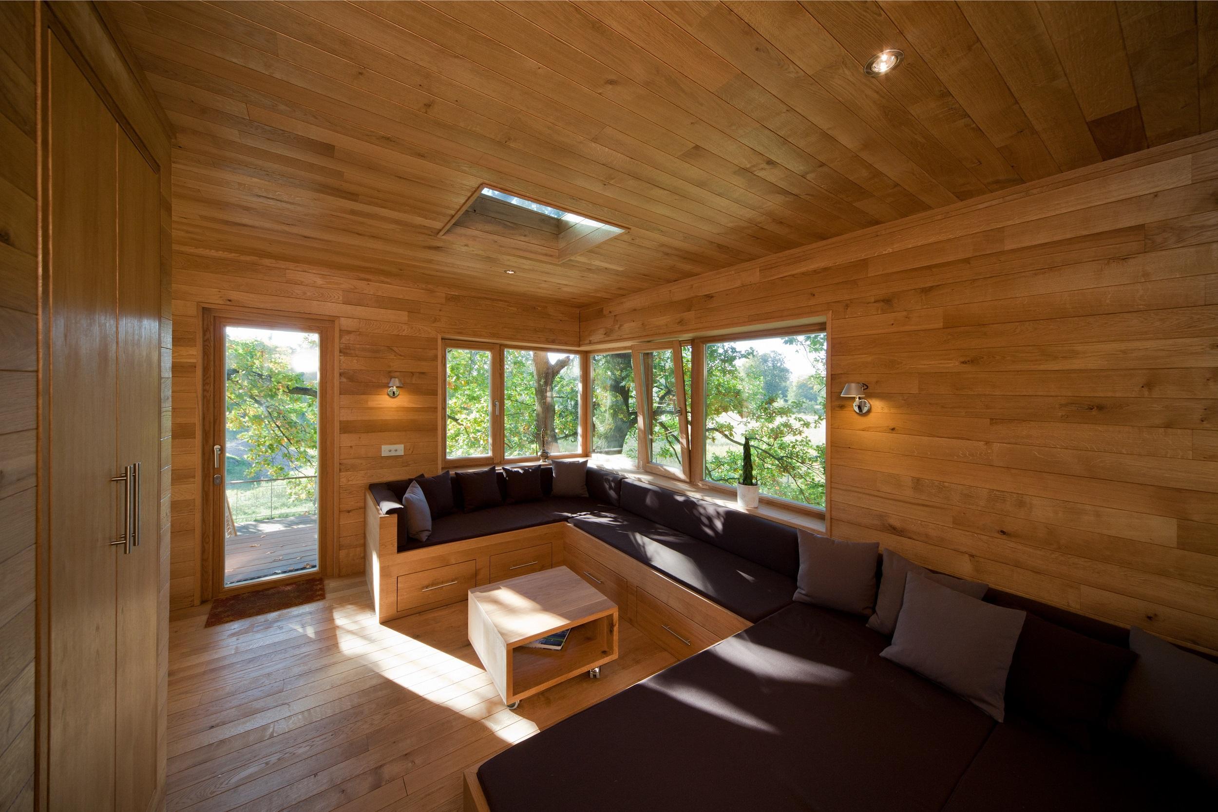holzverkleidung bilder ideen couch. Black Bedroom Furniture Sets. Home Design Ideas