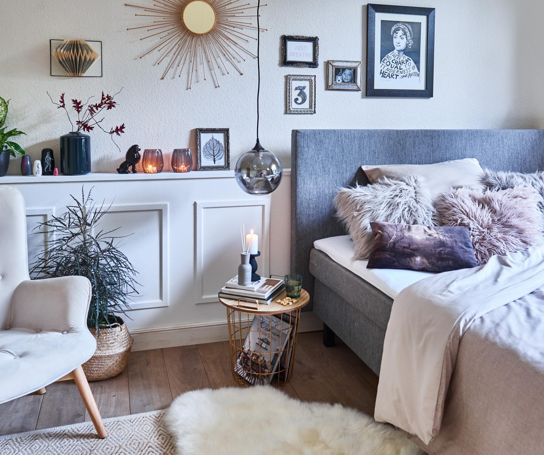Gemütliches Schlafzimmer mit Möbeln von DEPOT #beist...