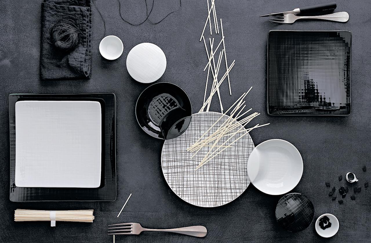geschirr mesh von rosenthal im wert von ca 400 eu. Black Bedroom Furniture Sets. Home Design Ideas