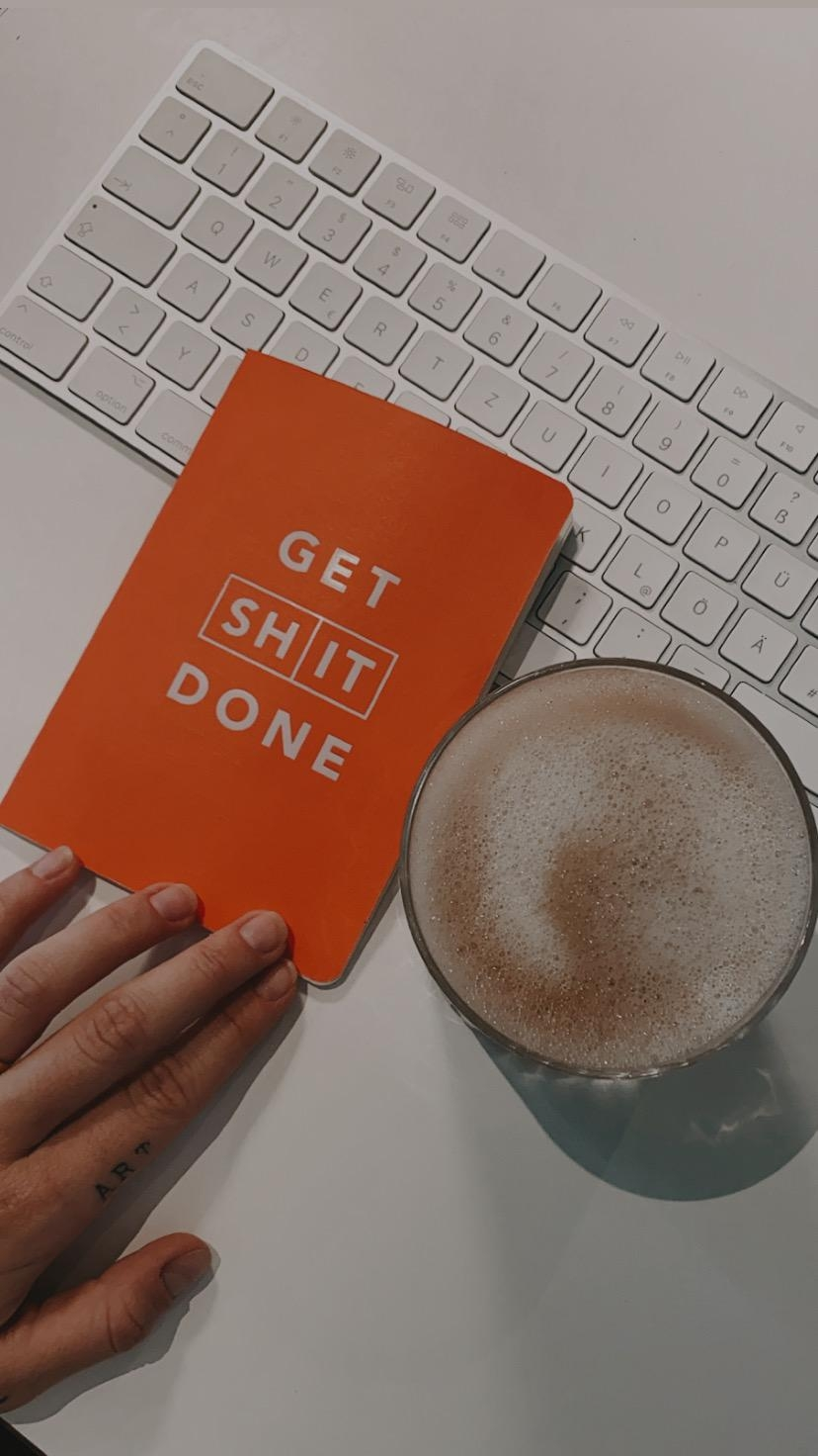 get shit done. #notizbuch #todos #office