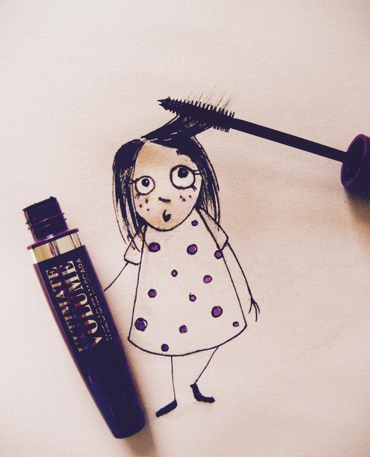Gibt Schwung & Volumen: RdL Ultimate Volume #mascara #beautychallenge
